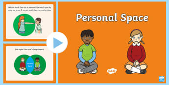 Personal Space PowerPoint - Personal Space, Social Stories, sen, proximity, space, social, autism, friendship, communication, co