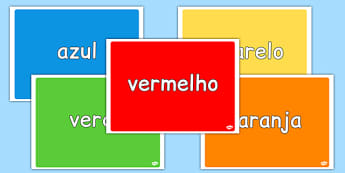 Colours Display Pack Portuguese - portuguese, colours, display pack, display, pack