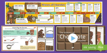 The History of Chocolate Resource Pack - History Club, Chocolate, Ideas, Support, Care Homes, Elderly Care, Life Long Learning, Activity Coor