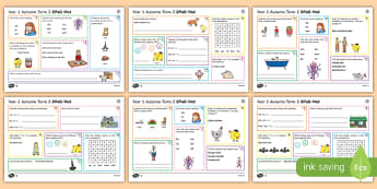 Year 1 Autumn Term 2 SPaG Activity Mats
