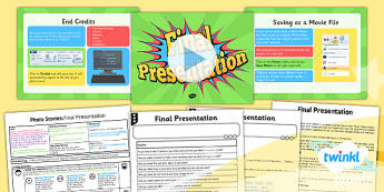 PlanIt - Computing Year 4 - Photo Stories Lesson 6: Final Presentation Lesson Pack - computing, photo, ks2, ict, 2014, planning