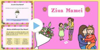 Ziua Mamei, Prezentare PowerPoint - 8 ,martie, mama, sarbatoare