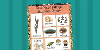 Kingdom of Benin: Bini Creation Story Vocabulary Mat