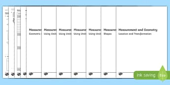 Year Three Measurement and Geometry Assessment Pack-Australia