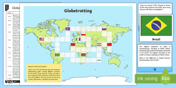 Globetrotting Problem Solving Game - maths mastery, problem solving, word problems, higher thinking, addition, subtraction, add, subtract