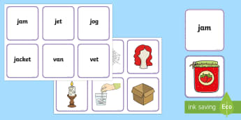 Middle East Phase 3 Sounds Matching Cards - reading, blending, sounds, digraphs, UAE