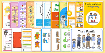 Year 1 English Working Wall Display Pack - Literacy, Y1, KS1, Writing, complete display, full display, learning prompts