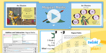 PlanIt Y4 Addition and Subtraction Lesson Pack Checking Answers (3) -  estimation, word problems, maths mastery, check, inverse, operation, opposite, reverse,