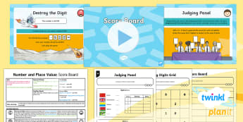 PlanIt Y5 Number and Place Value Lesson Pack Ordering and Comparing (2) -  decimal, Read, write, order, compare numbers