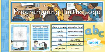 Computing: Programming Turtle Logo Year 4 Unit Additional Resources