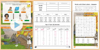 Year 5 Term 1B Week 1 Spelling Pack - Spelling Lists, Word Lists, Autumn Term, List Pack, SPaG