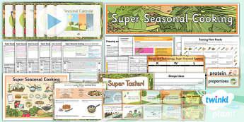 D&T: Super Seasonal Cooking UKS2 Unit Pack