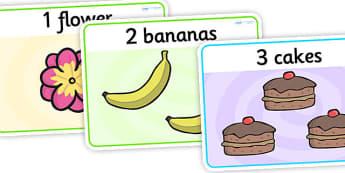 1-10 Number Basic Playdough Mats - counting playdough mats, basic counting playdough mats, counting to 10, maths playdough mats, numeracy activities, sen