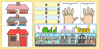 Odd and Even Numbers Display - - odd, even, numbers, display,