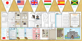 KS2 Pirates Lesson Plan Ideas and Resources Pack - pirates, KS2