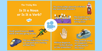 SPaG-Tastic! : The Tricky Bits - Is It a Noun or Is It a Verb? Video - word class, gps, Year 6, sat test, grammar, Twinkl Go, twinkl go, TwinklGo, twinklgo