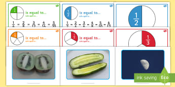 Year 2 Fractions Display Pack English/Romanian - Fractions Display Pack Year 2 - fractions, display pack, year 2, frctions, frations, EAL