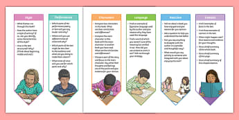 Year 5 and 6 2014 Curriculum Guided Reading Bookmarks