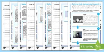Pinguinul imperial - Fișe diferențiate de evaluare a competenței de lectură Romanian-Romanian - pinguinul imperial, viața la poli, română, citire, arctic, polar, antarctida, antartic, poli, mat