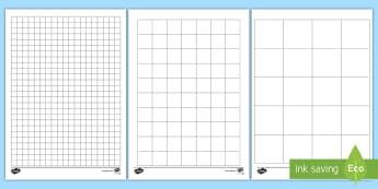 Squared Paper Activity Sheets - measures, area, drawing, templates, activity sheets, scales, squared paper,Irish