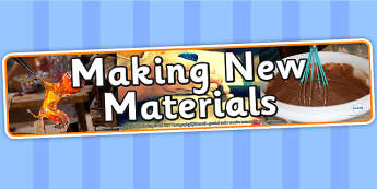 Making New Materials Photo Display Banner - making new materials, IPC display banner, IPC, materials display banner, IPC display, materials banner