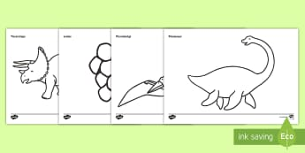 Dinosaurs Dictionary Colouring Sheet - dinosaurs, colouring sheet