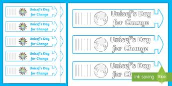 KS1 Wristband Activity - EY/KS1 Unicef