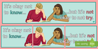 It's Okay Not to Know... Display Banner - Banner, Display, Behaviour, Motivation, Attitudes