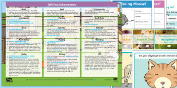 EYFS Pets Enhancement Ideas and Resources Pack - EYFS, Early Years planning, adult led, continuous provision, Pets, Animals, National Pet Month, cats