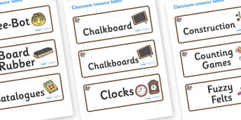 Squirrel Themed Editable Additional Classroom Resource Labels - Themed Label template, Resource Label, Name Labels, Editable Labels, Drawer Labels, KS1 Labels, Foundation Labels, Foundation Stage Labels, Teaching Labels, Resource Labels, Tray Labels,