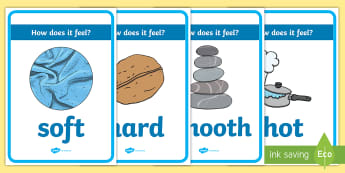 Sensory Table (Touch) Display Posters - Australia, EYLF, fine motor, sensory, kindergarten, preschool, nursery, reception, pre-primary, prep