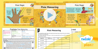 PlanIt Y4 Fractions Divide by 10 and 100 (2) Lesson Pack - Dividing, dividing by 10, dividing by 100, place value, tenths, hundredths, ones, decimal, measure,