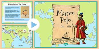 Marco Polo Presentation - marco polo, presentation, explorer, travel, ks2