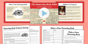 Domesday Book Resource Pack - domesday book, resource, pack, domesday