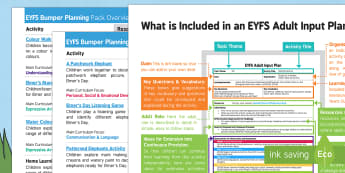EYFS Elmer Bumper Planning Pack Overview - EYFS, Early Years planning, adult led, Elmer, David McKee, colour, elephant, pattern, patchwork.