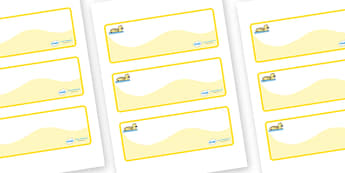 Gosling Themed Editable Drawer-Peg-Name Labels (Colourful) - Themed Classroom Label Templates, Resource Labels, Name Labels, Editable Labels, Drawer Labels, Coat Peg Labels, Peg Label, KS1 Labels, Foundation Labels, Foundation Stage Labels, Teaching