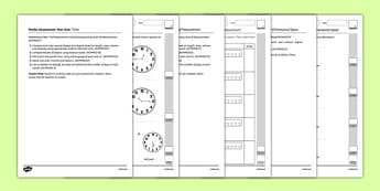 Year Two Measurement and Geometry Assessment Pack-Australia