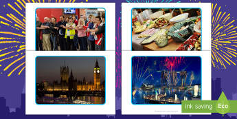 New Year Display Photos - EYFS, Early Years, New Year's, January, New Year's Eve
