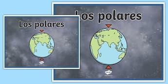 Cartel Los polares