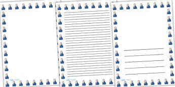William Wilberforce Page Borders - william wilberforce, page borders, borders, themed page border, writing frame, writing template, writing aid, line guide
