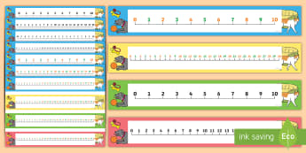 Pet Themed Number Line Pack 0-30 - Counting, Numberline, Number line, Counting on, Counting back, cat, dog, rabbit, mouse, guinea pig, rat, hamster, gerbil, horse, puppy, kitten, snake, chinchilla, snail, lizard, budgie