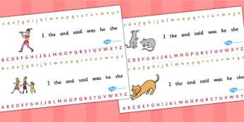 The Pied Piper Alphabet Strips - alphabet, strips, pied piper