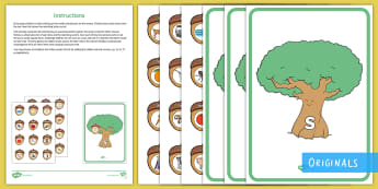 Acorn and Oak Tree Phase 2 Phonics Game - EYFS, Little Acorns, Twinkl Originals, Twinkl Fiction, Autumn, Seasons, Plants and Growth, Growing,