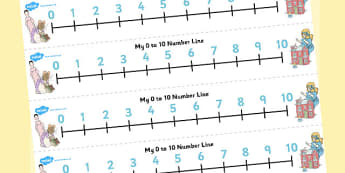 The Tale of Two Bad Mice Number Lines 0-10 - two bad mice, number lines