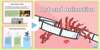 LKS2 Art and Animation PowerPoint - the big draw, y3 and y4, drawing, animating, cartoons, history of animation, film, cinema