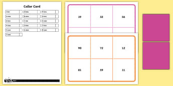 Place Value Two-Digit Numbers Bingo - Number and Place Value, maths mastery, year 3, fun maths, tens, ones, number value,