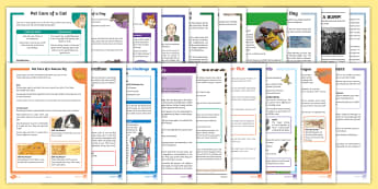 LKS2 Reading Comprehensions Bumper Resource Pack - books, understanding, inference, deduction, independent reading,