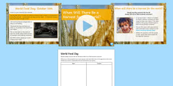When Will There Be a Harvest for the World? Activity Pack - food, farming, debate, discussion, ks3, form period, poverty, hunger