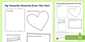 End of the Year Writing Activity Sheet - End of the Year Writing Activity Sheet - End of school year, end of year, end of school, writing act
