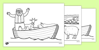 A Special Outing Colouring Sheets - a special outing, my gumpy's outing, colouring sheets, colour